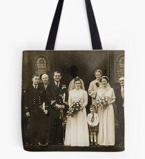 Mum and Dad, September 27th, 1952 Tote Bag