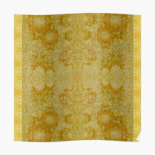 Home decor textiles- Golden Fox Poster
