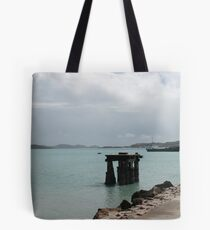 Old Pier - Thursday Island, Torres Strait Tote Bag