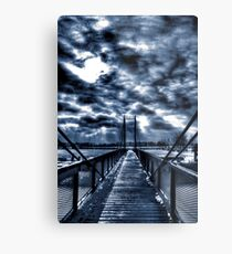 Mystery Bridge Metal Print