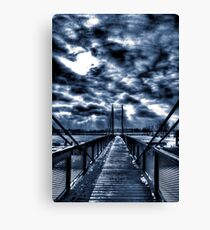Mystery Bridge Canvas Print