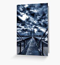 Mystery Bridge Greeting Card