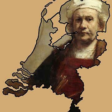 Rembrandt Self Portrait Netherlands (Famous Dutch Painting) by From-Now-On