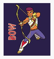 Bow from She-Ra Photographic Print