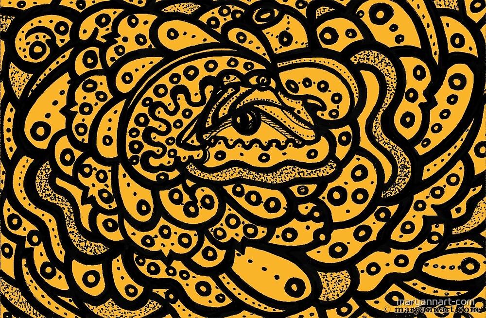 Shell Eye by maryannart-com