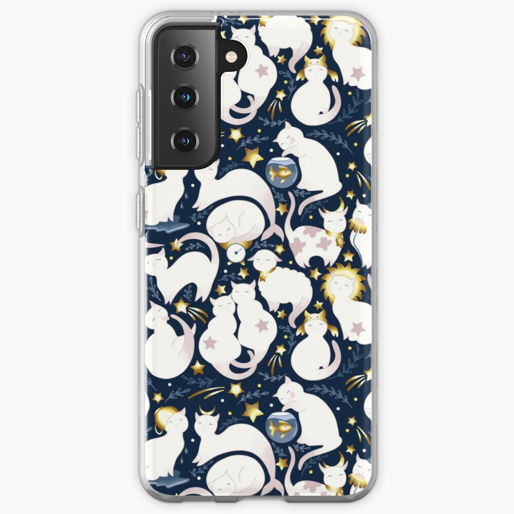Zodiac cats Samsung Galaxy Phone Case