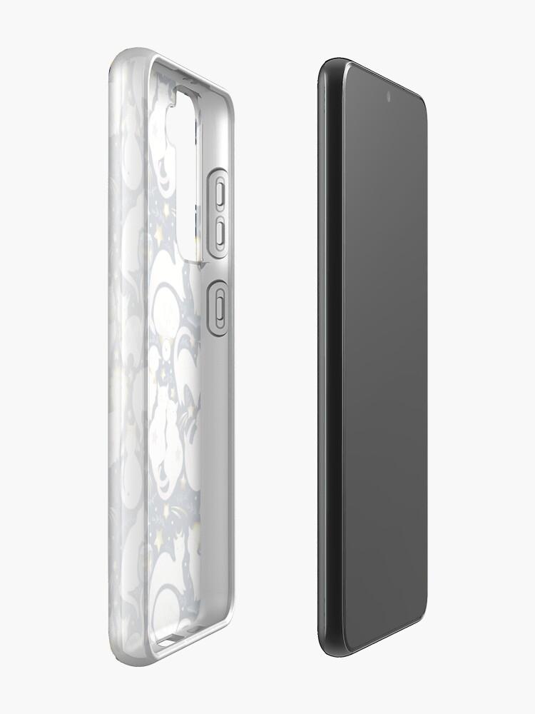 Alternate view of Zodiac cats Samsung Galaxy Phone Case