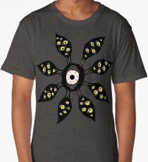 Eye Monster Witchy Weird Art Long T-Shirt