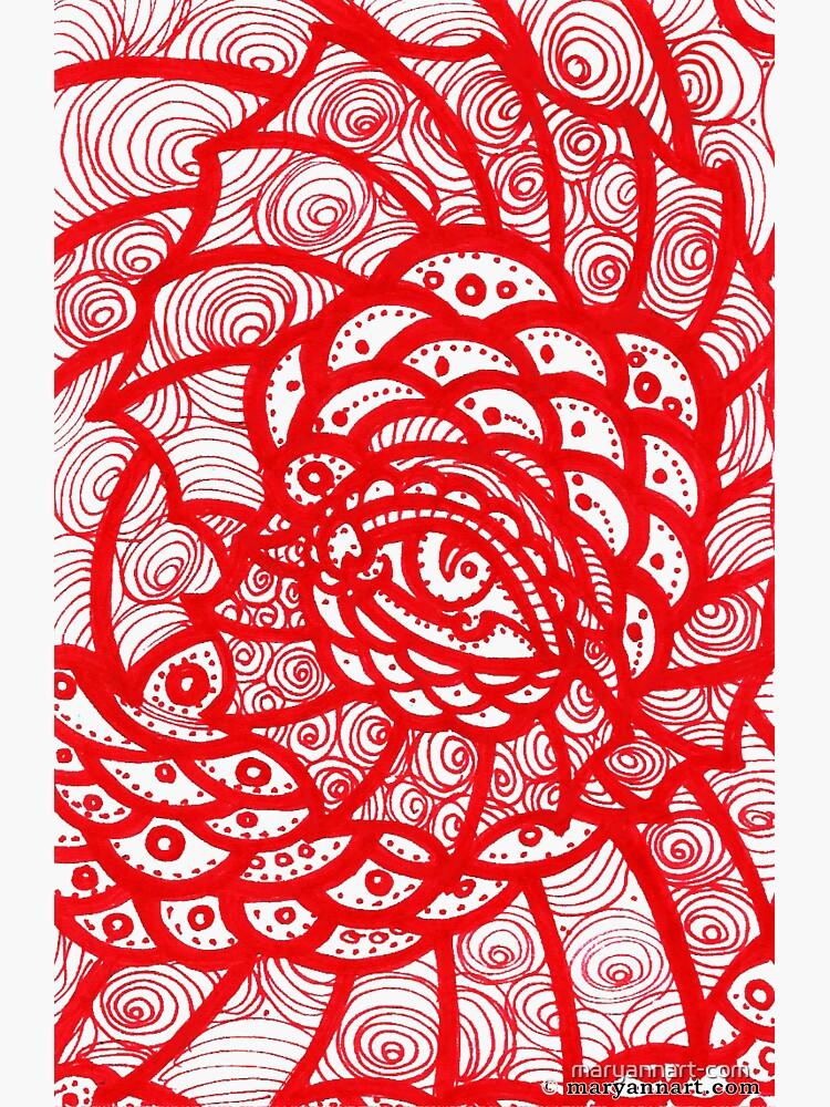 Red Eye by maryannart-com