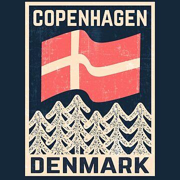 Vintage Copenhagen Denmark Design by dk80