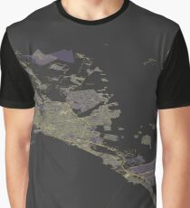 Isometric view of Mallorca map Graphic T-Shirt