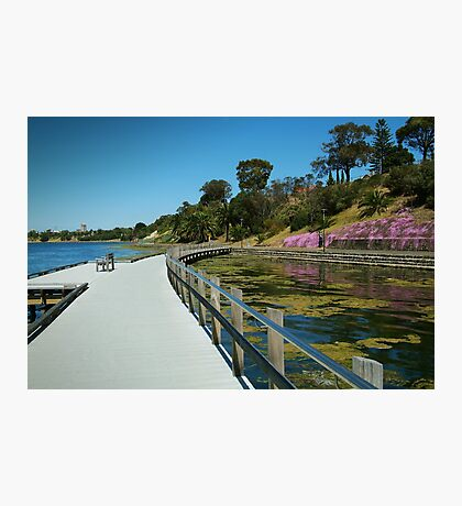 Rippleside Board Walk, Geelong Photographic Print