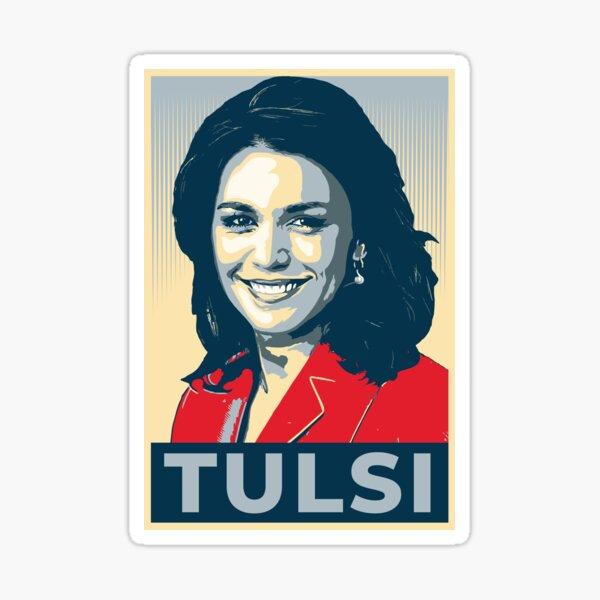 Tulsi Gabbard 2020 President Candidate Official CampaignBumper Sticker Hawaii