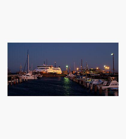 Twilight,Queenscliff Harbour  Photographic Print