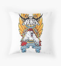 Canadian Polar Bear Natas Tribute Throw Pillow