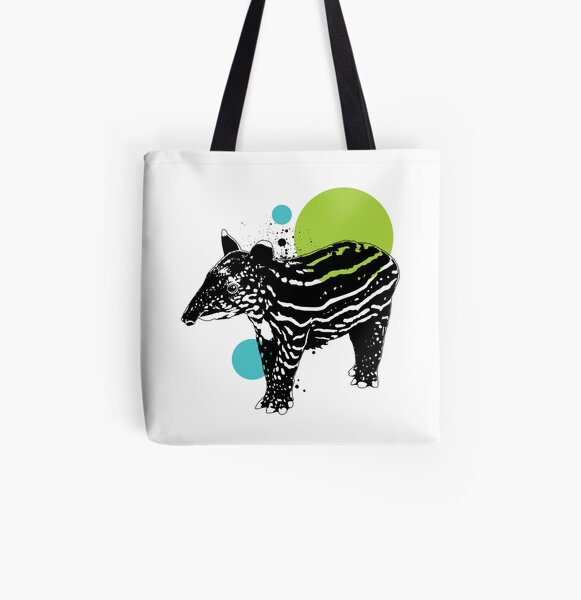 Little tapir All Over Print Tote Bag