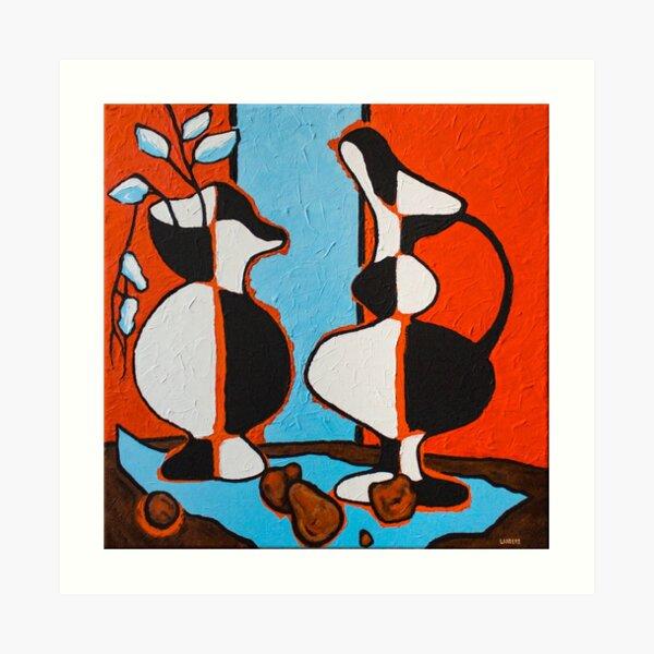 Frasier's Vases Art Print
