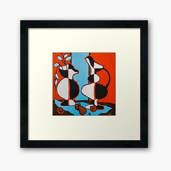 Frasier's Vases Framed Art Print