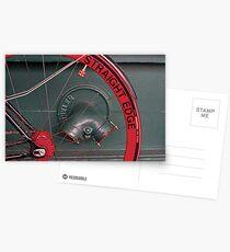 STRAIGHT EDGE. Postcards