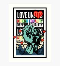Love Unites Art Print