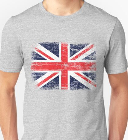 Vintage UK British Flag design T-Shirt