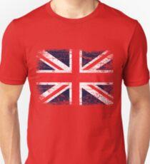 Vintage UK British Flag design Unisex T-Shirt