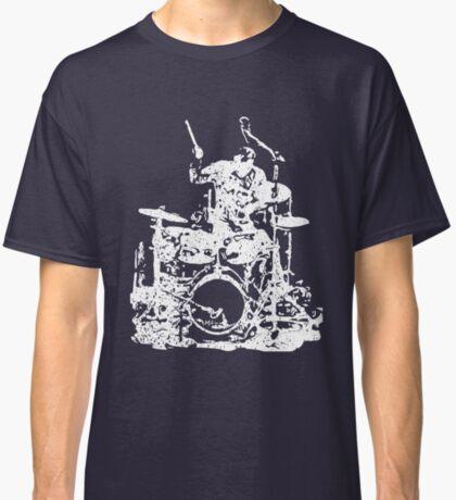 Drummer Musician Grunge Style Classic T-Shirt