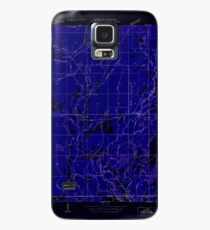 USGS TOPO Map Louisiana LA Doyle 333751 1950 31680 Inverted Case/Skin for Samsung Galaxy