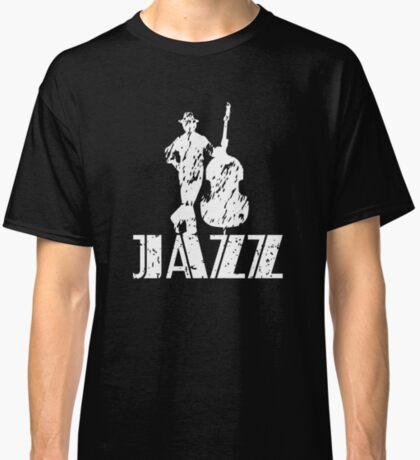 JazzWorldQuest-Jazz Bass Musician Modern Style  Classic T-Shirt
