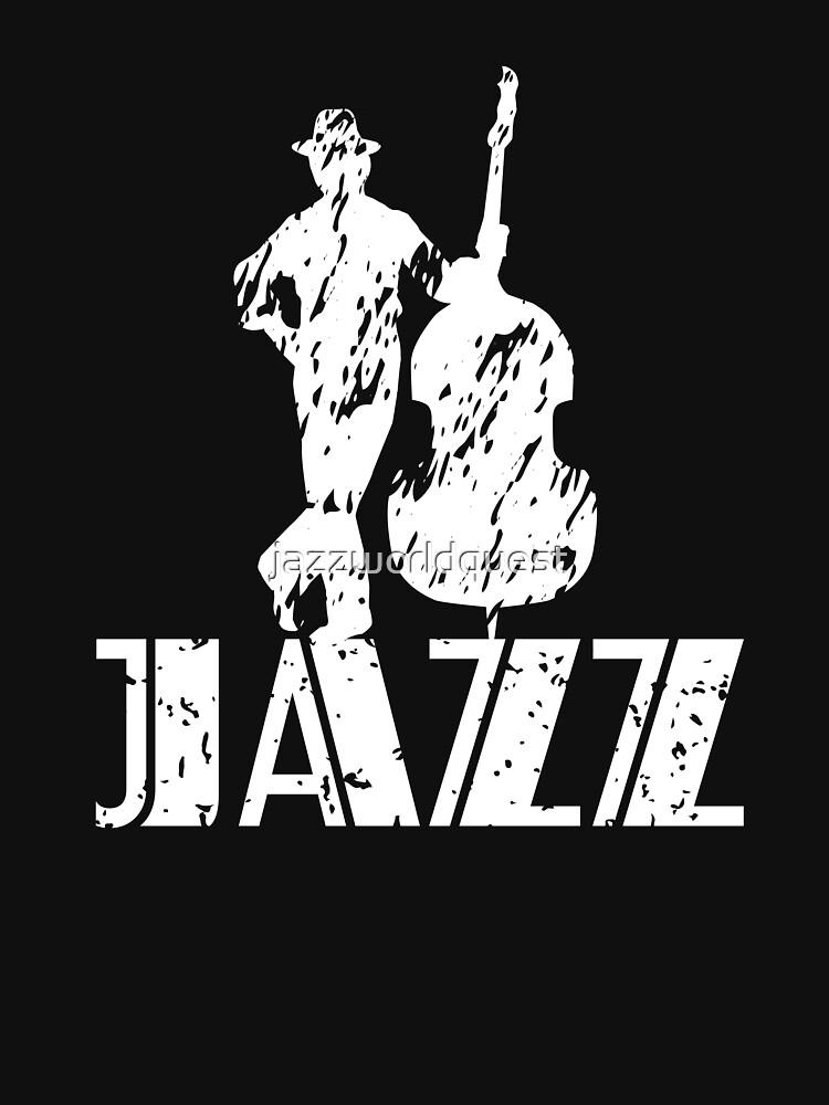 JazzWorldQuest-Jazz Bass Musician Modern Style  by jazzworldquest