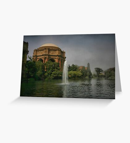 Palace in Fog Greeting Card