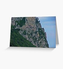 The Phoenician Steps to Anacapri Greeting Card