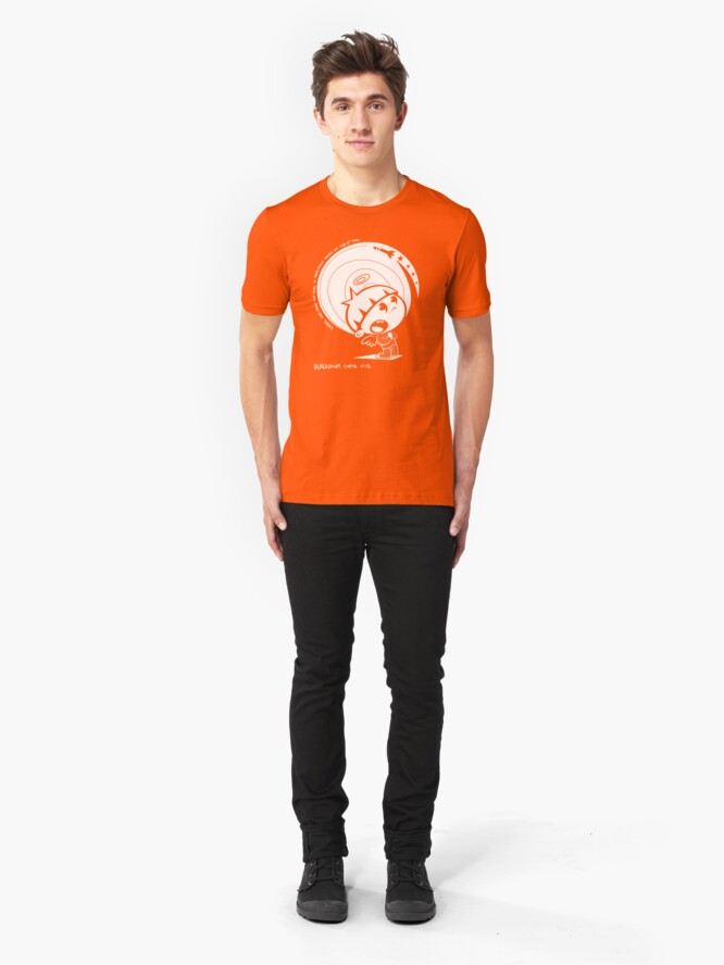 Alternate view of On The 6th Day... Slim Fit T-Shirt