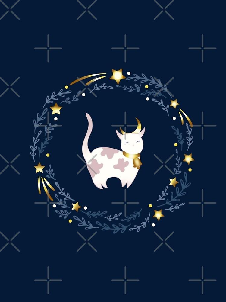 Zodiac cat - Taurus by Elenanaylor