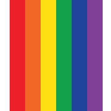 Rainbow Love Flag by machmigo