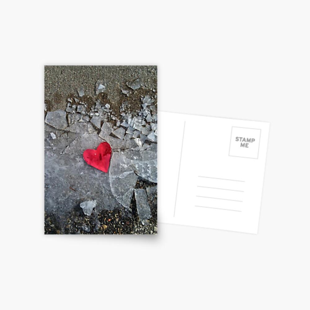 Trampled Heart Postcard