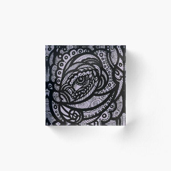 Eye Circles Acrylic Block