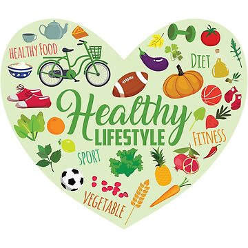 Healthy Lifestyle Heart by bza84