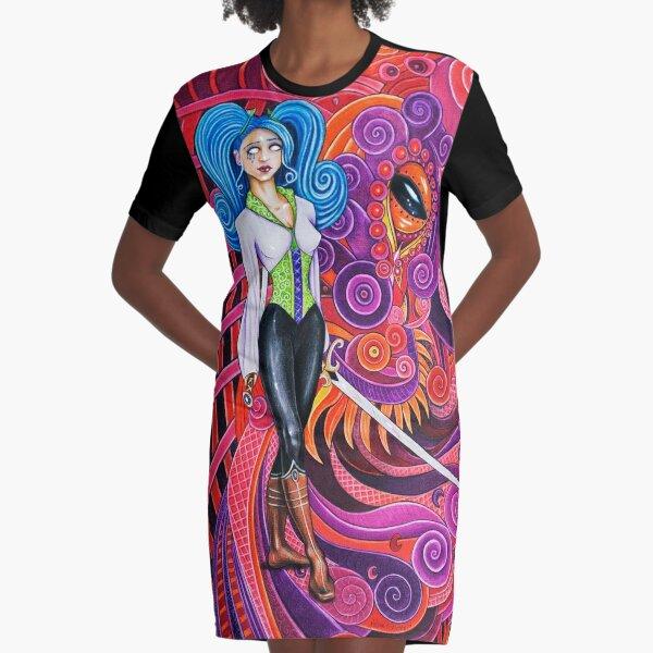 Watcher Graphic T-Shirt Dress