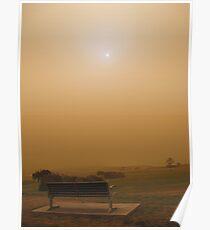 Dusty Sunrise Poster