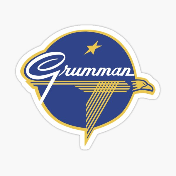 Grumman Vintage Aircraft USA Sticker
