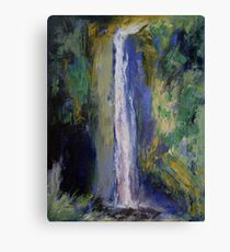 Waterfall Painting Canvas Print