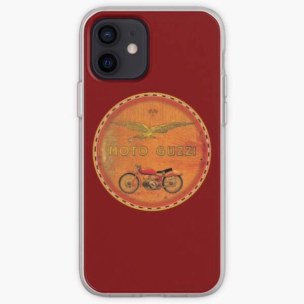 Moto Guzzi Vintage Coque souple iPhone