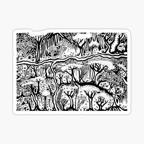 Kiwi Forest Sticker