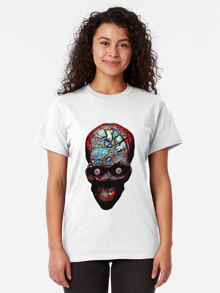 Alternate view of A Very Bad Headache Classic T-Shirt
