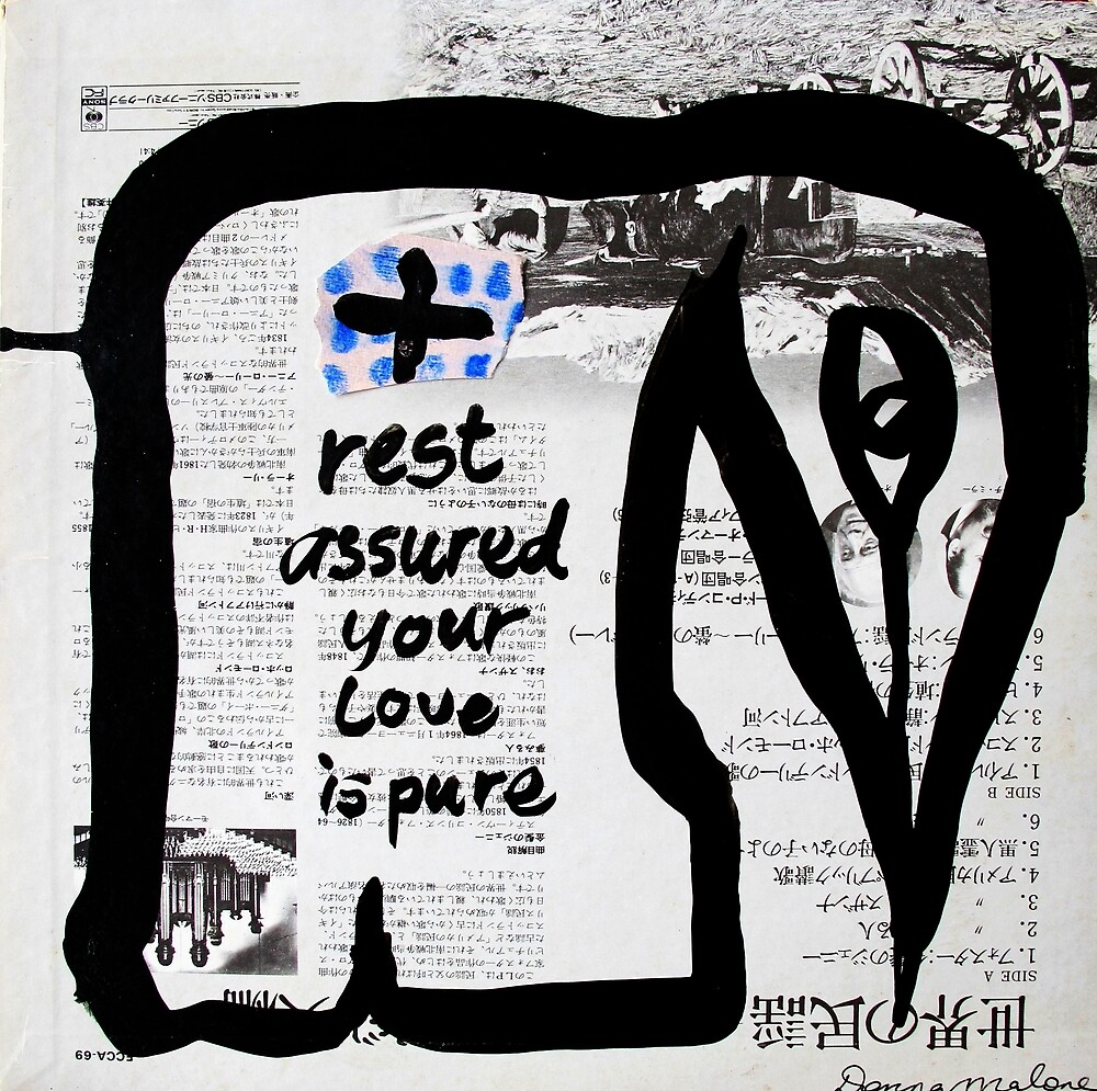 rest assured your love is pure by donna malone
