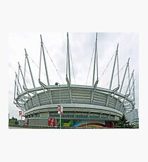 BC Place Photographic Print