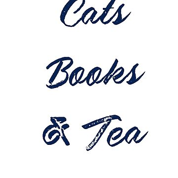 Cats, books and tea by Britta75