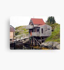 Blue Rocks Nova Scotia Canvas Print