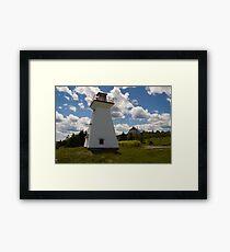 Port Medway Nova Scotia Framed Print